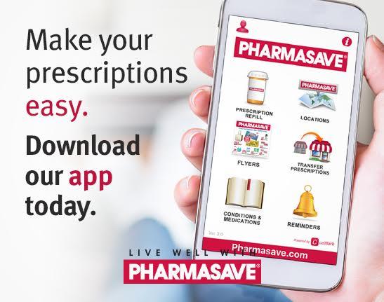 Download Pharmasave app for easy prescriptions