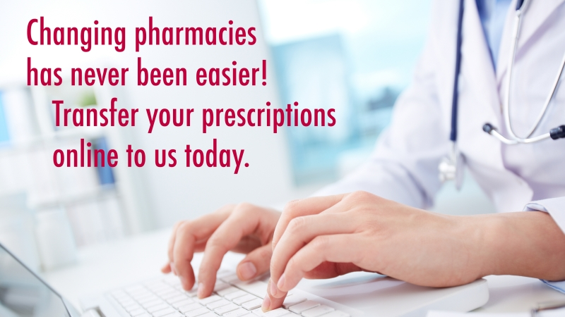 transfer prescriptions to pharmasave