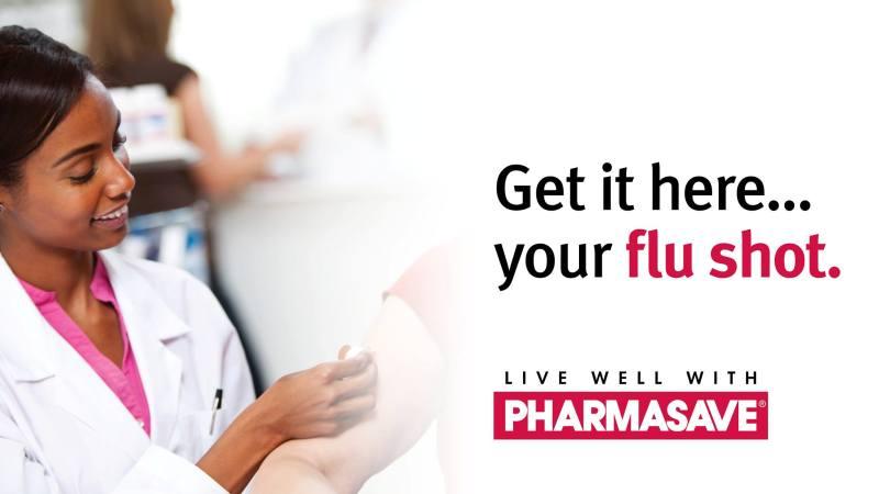 BramQueen Pharmasave flu shot