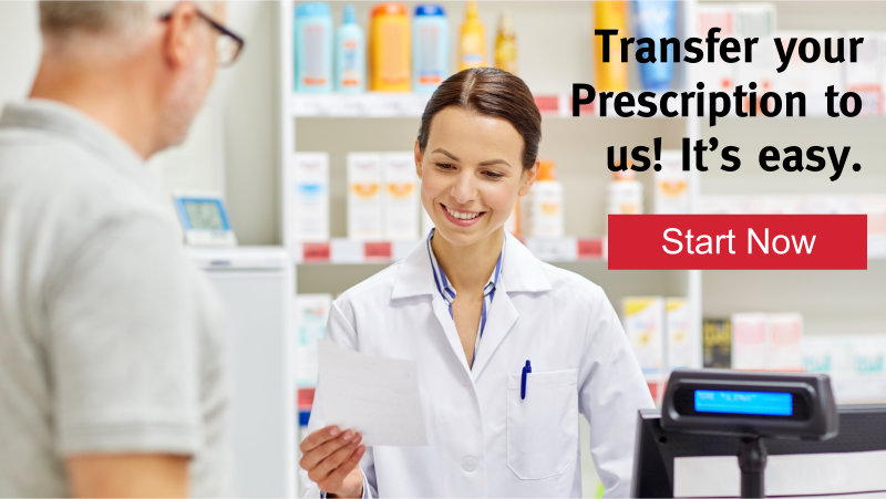 Transfer Prescription to BramQueen Pharmasave